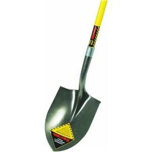 Seymour S700 48-Inch Fiberglass Long Handle Structron Round Point Shovel