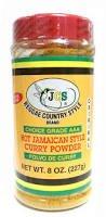 JCS Real & Hot Jamaican Curry Powder