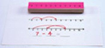 5 Pack CENTER ENTERPRISES INC. STAMP SET NUMBER LINE 3/PK NUMBERS