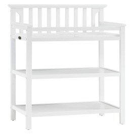 graco changing table classic white baby