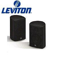 Leviton Aess5-Bl Expansion Satellite Speaker For Aeh50 Home Cinema Speaker System - Black (Pkg Of 3)