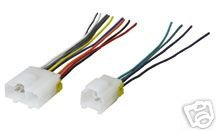 Stereo Wire Harness Nissan 240SX 89 90 91 (car radio wiring installation parts) (Nissan 240sx Cars compare prices)