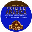 SECOND CUP RFA EURO BLEND COFFEE 96 Single serve