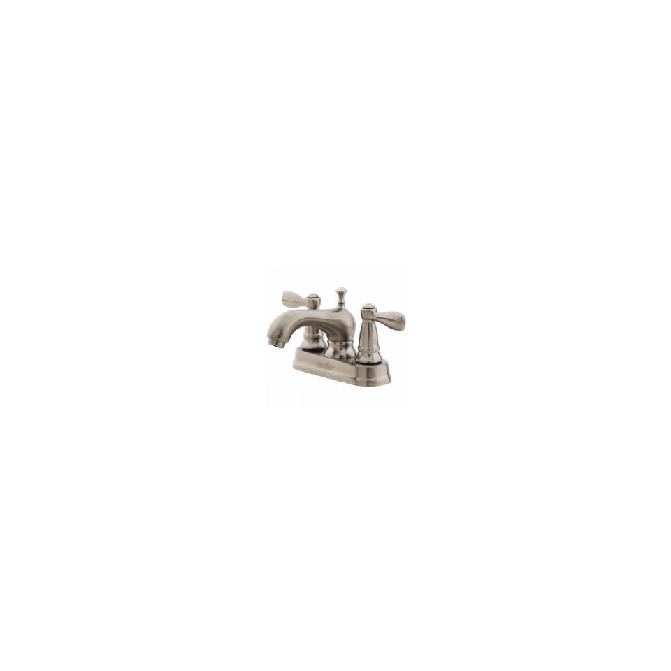 Price Pfister T48 PK00 4 Centerset Lavatory Faucet w/ Metal Pop Up