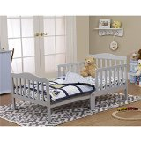 Orbelle Trading Toddler Bed, Grey - 1