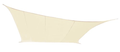 Pantalla para lámpara Sail marfil Kookaburra resistente al agua - 3 m x 2 m Rectangular - Gazebo Sail para toldo