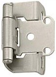 4 each: Amerock Self-Closing Partial Wrap Adjustable Hinge (BP7550-G10)