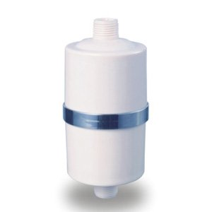 Crystal Quest White Shower Filter (No Shower Head)