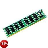 Transcend Memoria RAM 256 MB DIMM 100 PIN DDR 266 MHz / PC2100 unbuffered non ECC