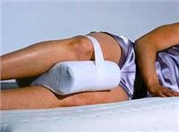 MEMORY FOAM KNEE SUPPORT PILLOW
