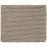 "Surya Timothy Tmt-8302 Knit Hand Knotted 100% Acrylic Sage-Gray 50"" X 60"" Throw"