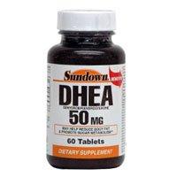 Sundown Naturals Dhea, 50Mg, Tablets 60 Ea