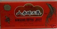 Deluxe Ginseng Royal Jelly 10ML Vials by Royal