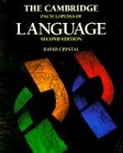 The Cambridge Encyclopedia of Language (0521559677) by Crystal, David