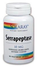 Solaray Serrapeptase 10Mg - 90 Veg Capules
