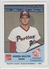 Darren Daulton (Baseball Card) 1984 Portland Beavers Cramer #198 by Portland Beavers Cramer