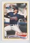 Derek Lilliquist RC (Rookie Card) Atlanta Braves (Baseball Card) 1989 Topps Traded #73T