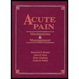 Acute Pain, 1e