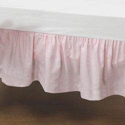 Pink Ruffle Crib Skirt