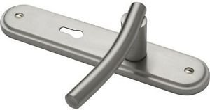 Arc Rossina Lever Lock Door Handle - Brushed Nick from New A-Brend