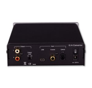 BRIK DAC Digital to Analog Convertor, Black