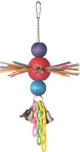 Cheap Super Bird Creations Hanging Stick Ball Bird Toy (675-00374)
