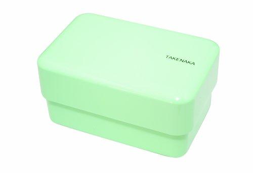 Takenaka Rectangle Bento Box, Peppermint front-313761