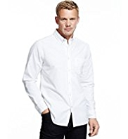 Blue Harbour Pure Cotton Slim Fit Oxford Shirt