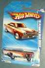 Hot Wheels 2010-094/240 Nightburnerz 06/10 '70 Plymouth Road Runner Keys to Speed Instant Win Card W/keychain 1:64 Scale - 1
