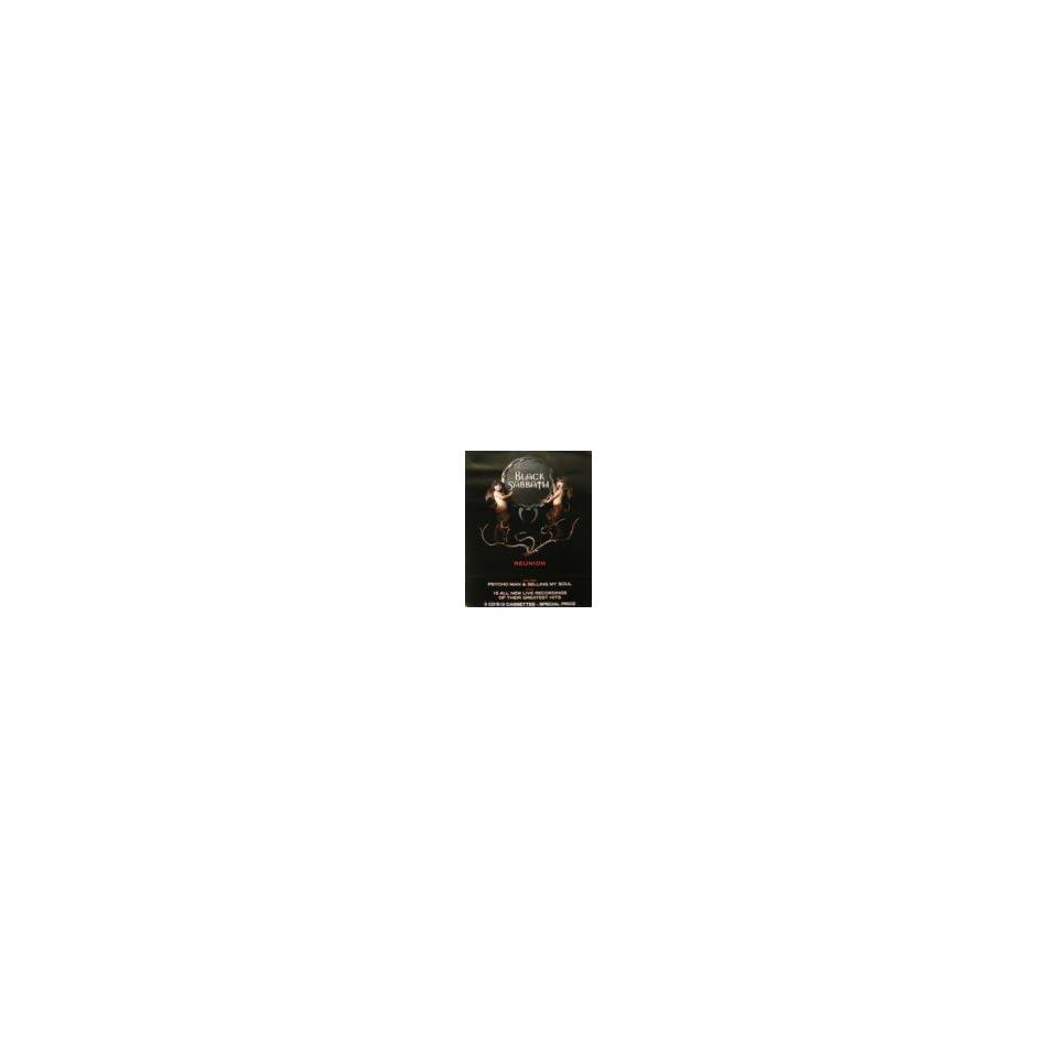 Black Sabbath   Reunion Tour   Double Sided Poster 24X30