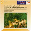 Shostakovich: Symphony No. 5 / Prokofiev: Love for Three Oranges Suite (Essential Classics) (Shostakovich Symphony 3 compare prices)