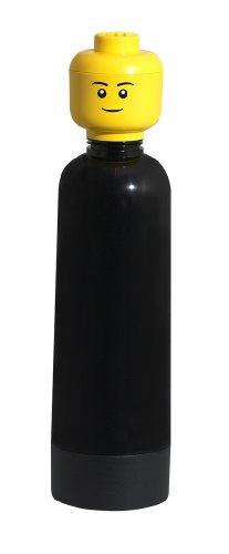 LEGO - Drinking Bottle, botella, color negro (Room Copenhagen 40401733)