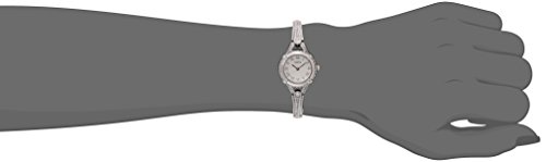 GUESS Women's U0135L1 Petite Silver-Tone Watch