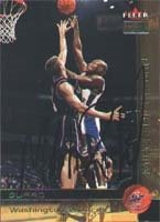 Mitch Richmond Washington Wizards 2000 Fleer Premium Autographed Hand Signed Trading... by Hall+of+Fame+Memorabilia