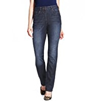 M&S Collection Body Shape Denim Eva Straight Leg Jeans