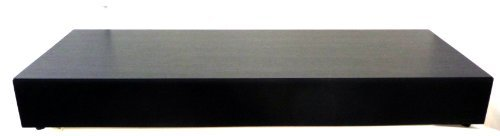 Pinnacle Sonix Box Superior Performance Single Cabinet Tv Speaker System (Black) front-450418