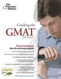 Cracking the GMAT with DVD, 2007 Edition (Graduate School Test Preparation)