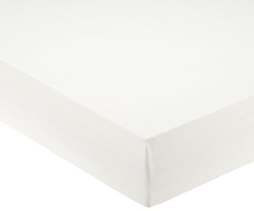 Pinolino 540004-0 Lenzuolo con Angoli Elasticizzati per Culla, Bianco