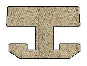 Ford Windstar Berber Floor Mats 2nd & 3rd Seat - 2nd Row Bench - No Front Center Console - U Shaped - Beige (1995 95 1996 96 1997 97 ) AMSNWNH903TTYR4