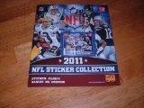 Wooky NFL 2011 Sticker Album by Aquastone