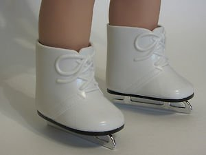 "My Life As White Ice Skates for 18"" Doll"
