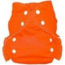 AMP One Size Duo Pocket Cloth Diaper (Orange)