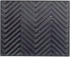 SoleTech Black Herringbone Rubber Soling Sheet - Shoe Repair