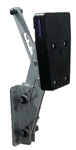 Aluminum 2-Stroke Outboard Motor Bracket HP Rating 12