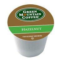 Green Mountain Coffee Roasters Gourmet Single Cup Coffee Hazelnut 12 K-Cups