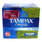 Tampax Compack Blue Regular 8pk 20S
