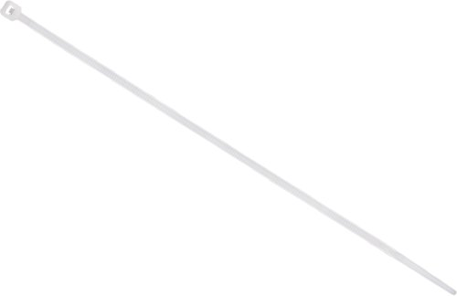 Ge Cable Ties, Plastic 8-Inch Clear, 20-Pack 52083 front-281682