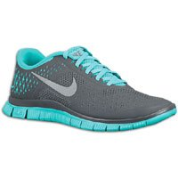 Nike Free 4 0 v2 Mens Running Shoes Anthracite Reflective