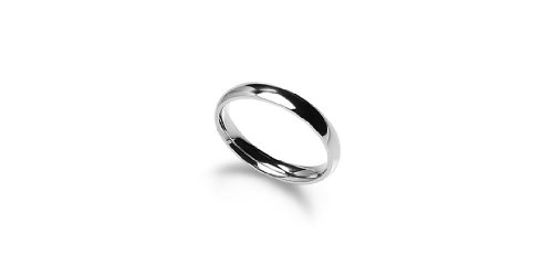 4mm Stainless Steel Comfort Fit Classic Wedding Band Ring Available in Sizes 4-12; W/ Free Gift Pouch (11) (Men Stainless Steel Ring Size 11 compare prices)