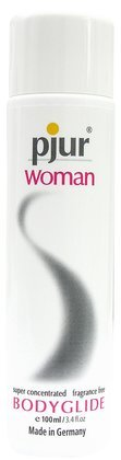 Two Bottles of Pjur Woman Bodyglide 3.4 fl. oz. Each